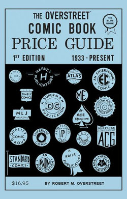 The Overstreet Comic Book Price Guide #1