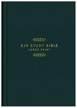 KJV Study Bible - Large Print [Gold Spruce]
