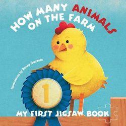 My First Jigsaw Book: How Many Animals On the Farm?