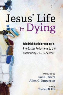 Jesus' Life in Dying