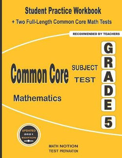 Common Core Subject Test Mathematics Grade 5