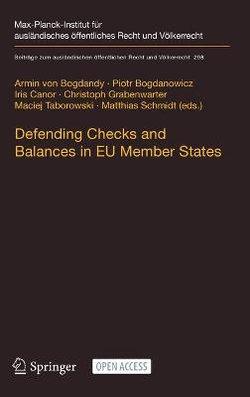 Defending Checks and Balances in EU Member States