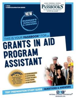 Grants in Aid Program Assistant, Volume 3542