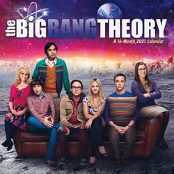 Cal-2021 the Big Bang Theory Wall