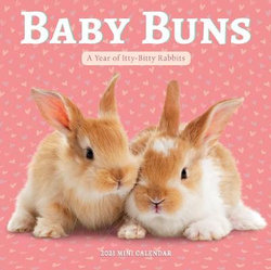 2021 Baby Buns Mini Wall Calendar