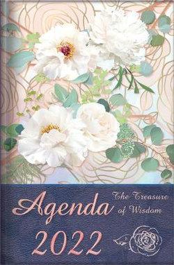 The Treasure of Wisdom - 2022 Daily Agenda - Peonies