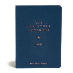 CSB Scripture Notebook, Isaiah