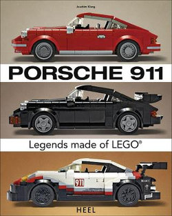 Porsche 911 Iconic Vehicles Made from Lego