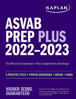 ASVAB Prep Plus 2022-2023