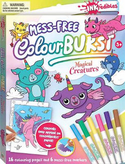 Inkredibles: Magical Creatures Colour Burst