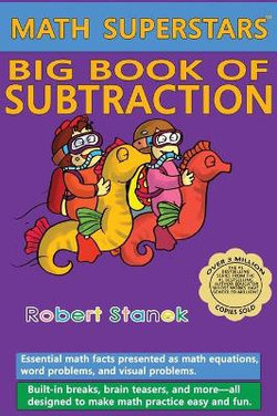 Math Superstars Big Book of Subtraction, Library Hardcover Edition