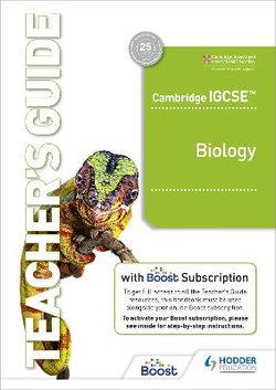 Cambridge IGCSE(tm) Biology Teacher's Guide with Boost Subscription