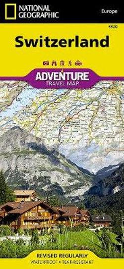 Switzerland Adventure Map