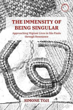 The Immensity of Being Singular