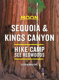 Moon Sequoia and Kings Canyon