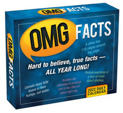 Omg Facts 2022 Boxed Daily Calendar