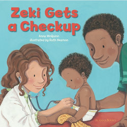 Zeki Gets A Checkup