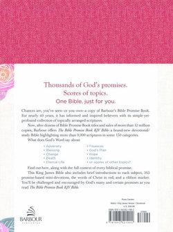 Bible Promise Book KJV Bible--Feminine