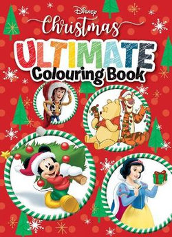 Disney Christmas: Ultimate Colouring Book