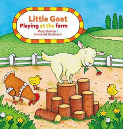 Little Goat. Playing at the Farm