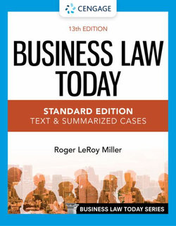 Business Law Today - Standard Edition