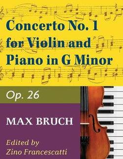 Concerto No. 1 in G Minor for Violin and Piano