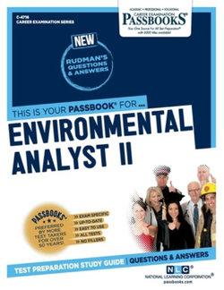 Environmental Analyst II, Volume 4716