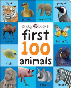 Large First 100 Soft to Touch Animals