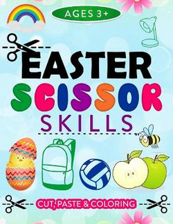 Easter Scissor Skills, Cute and Paste Ages 3+
