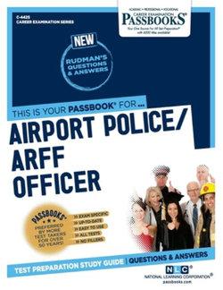 Airport Police/Arff Officer, Volume 4425