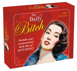 The Daily Bitch Boxed Calendar 2022