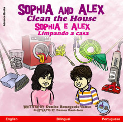 Sophia and Alex Clean the House