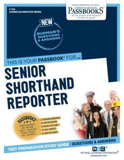 Senior Shorthand Reporter