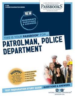Patrolman, Police Department