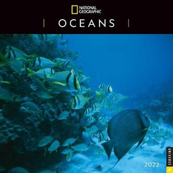National Geographic: Oceans 2022 Wall Calendar