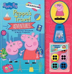 Peppa Pig: Peppa's Travel Adventures Storybook and Movie Projector