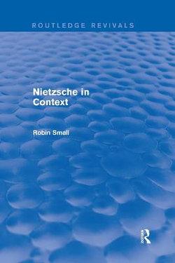 Nietzsche in Context