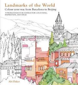 Landmarks of the World Colouring