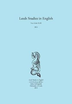 Leeds Studies in English 2018