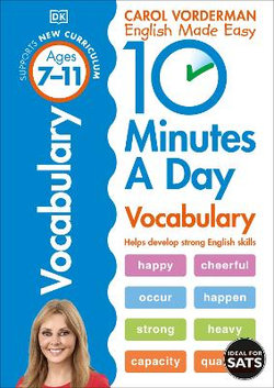 10 Minutes A Day: Vocabulary
