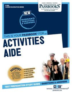 Activities Aide, Volume 3101