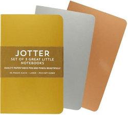 Foil Jotter Notebooks (Set of 3)
