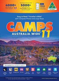 Camps 11 Free Camping Guide Easy to Read with Photos Spiral Bound