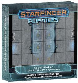 Starfinder Flip-Tiles: Space Station Docking Bay Expansion