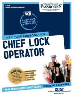 Chief Lock Operator, Volume 4849