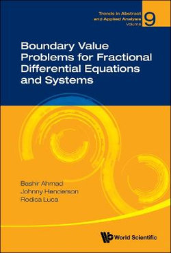 Boundary Value Problems For Fractional Differential Equations And Systems