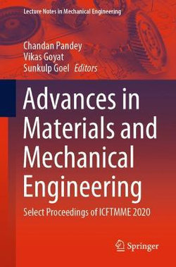 Advances in Materials and Mechanical Engineering