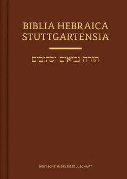 Biiblia Hebraica Stuttgartensia (BHS)