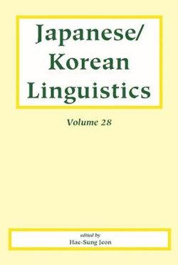 Japanese/Korean Linguistics, Volume 28