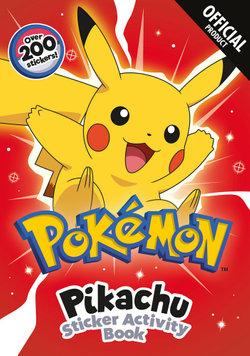 Pokemon: Pikachu's Sticker Activity Book